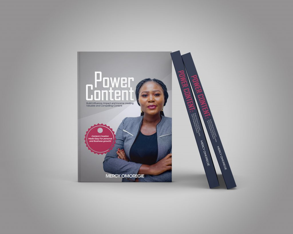 Meet Mercy Omoregie, Author Power Content