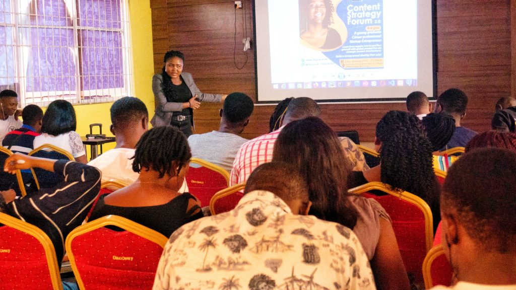 Highlights of the Content Strategy Forum by Mercy Omoregie on BeInspired Show