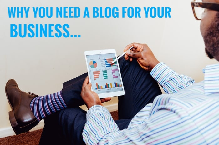 7 reasons your business needs a blog, Entrepreneurship Monday, BeInspired Show