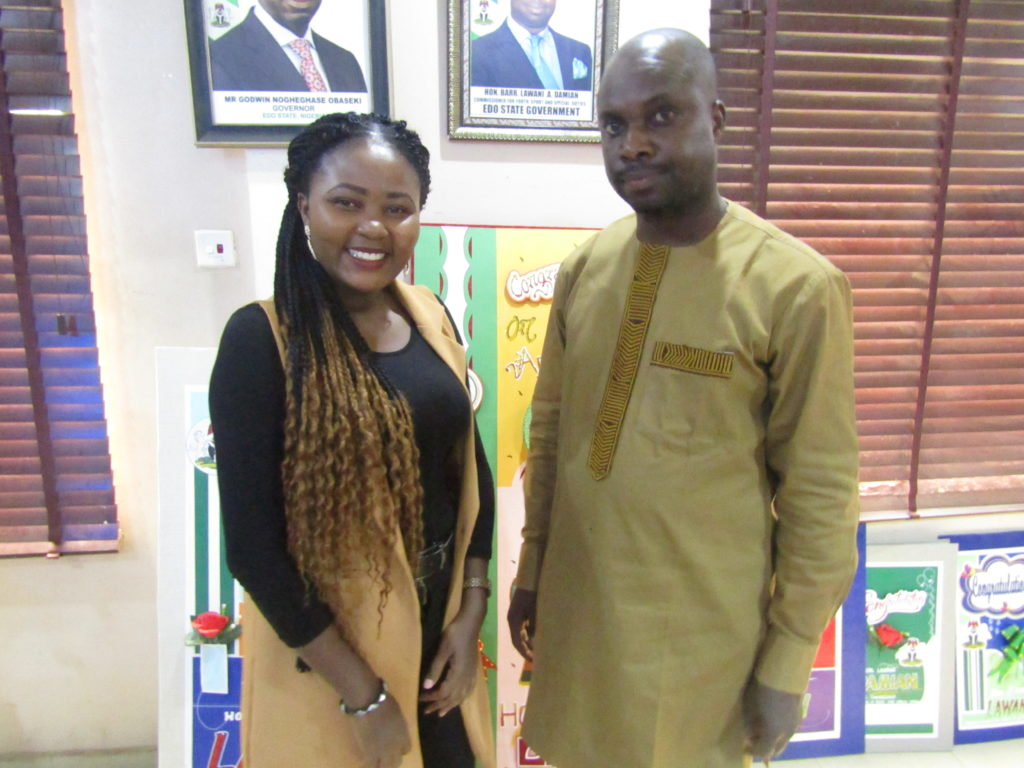 20th Edo National Sport Festival 2020, BeInspired with Mercy Omoregie